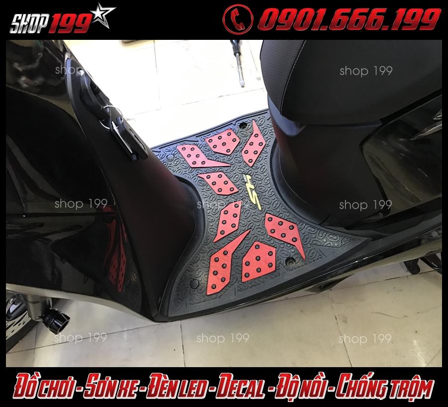 Honda da SH 2017 150i 125i sử dụng thảm lót sàn màu đỏ