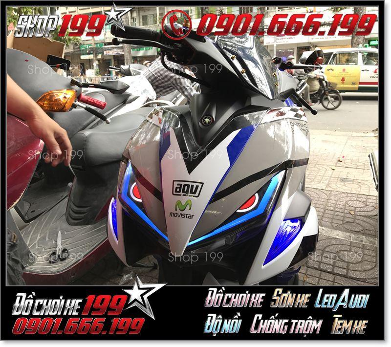 Hình ảnh độ led audi cho xe nvx 155 125 cực đẹp giá rẻ ở SG