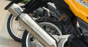Xe Click Thái màu vàn độ pô 4 road 2008 cực sành điệu